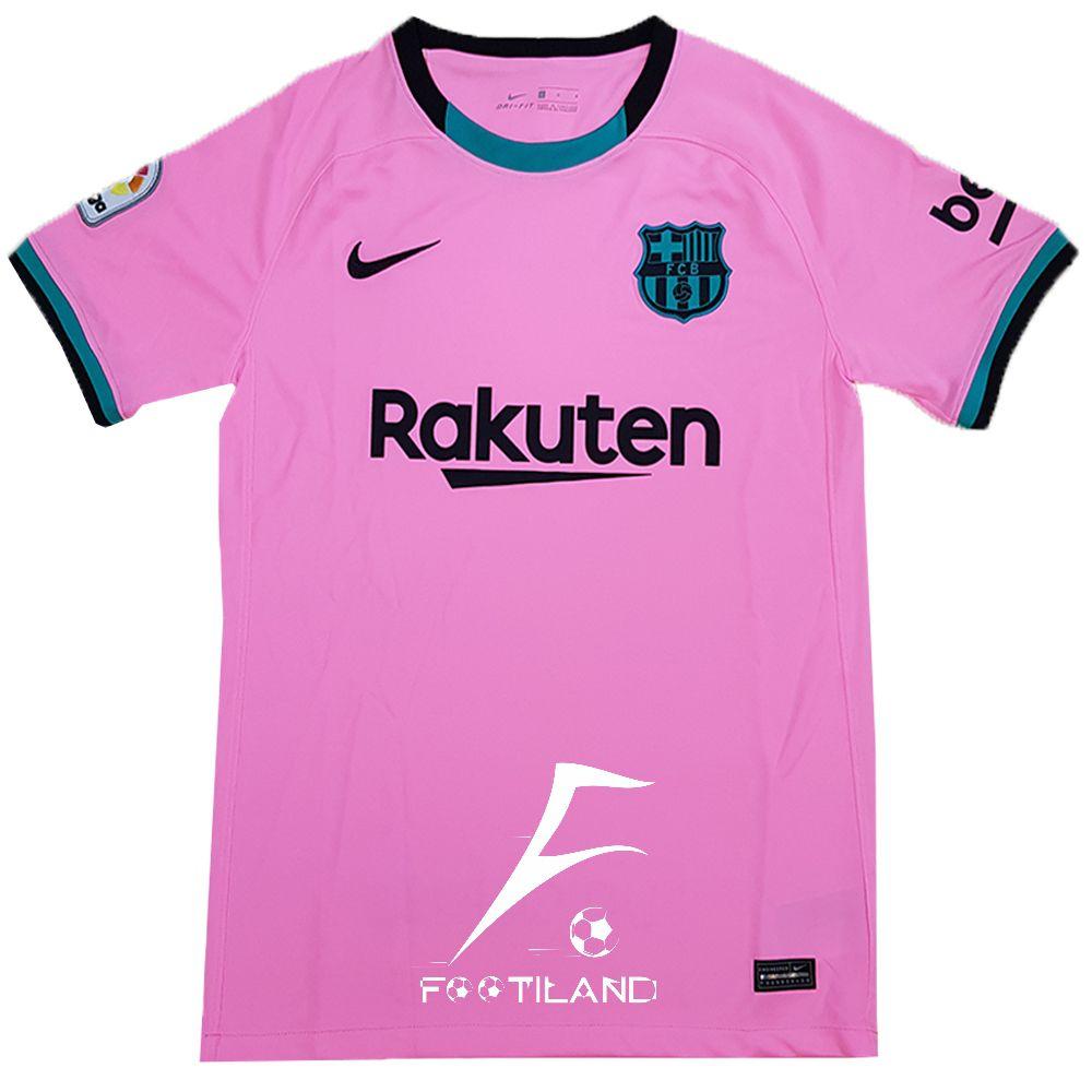 لباس سوم بارسلونا 2021 به رنگ صورتی