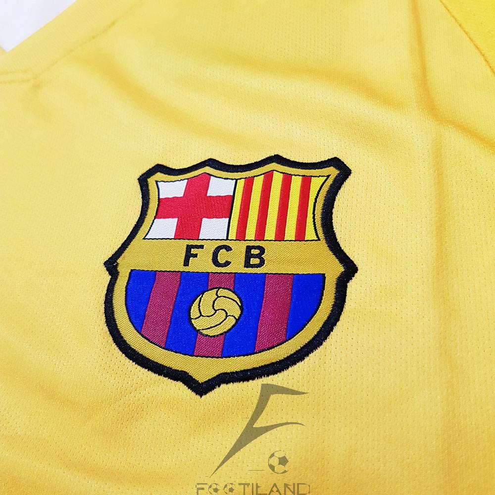 کیفیت لوگو لباس دوم بارسلونا 2020
