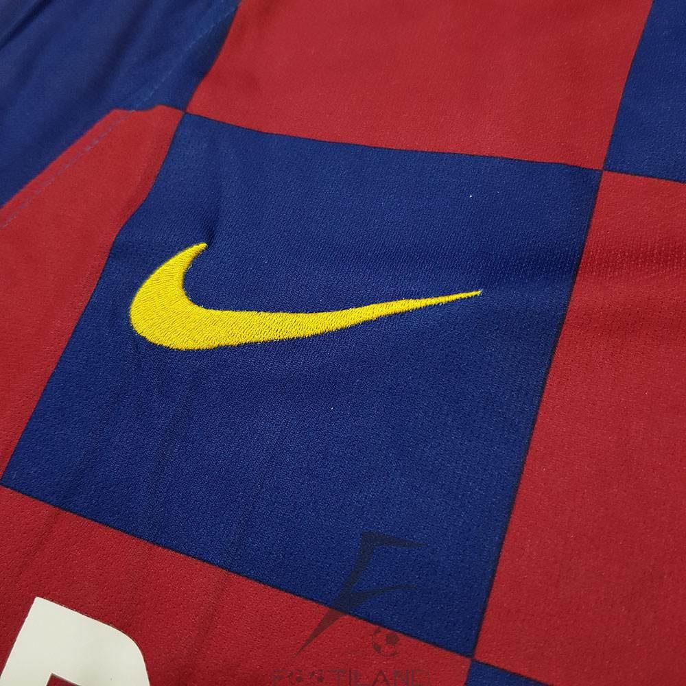 کیفیت آرم نایک لباس اول بارسلونا 2020