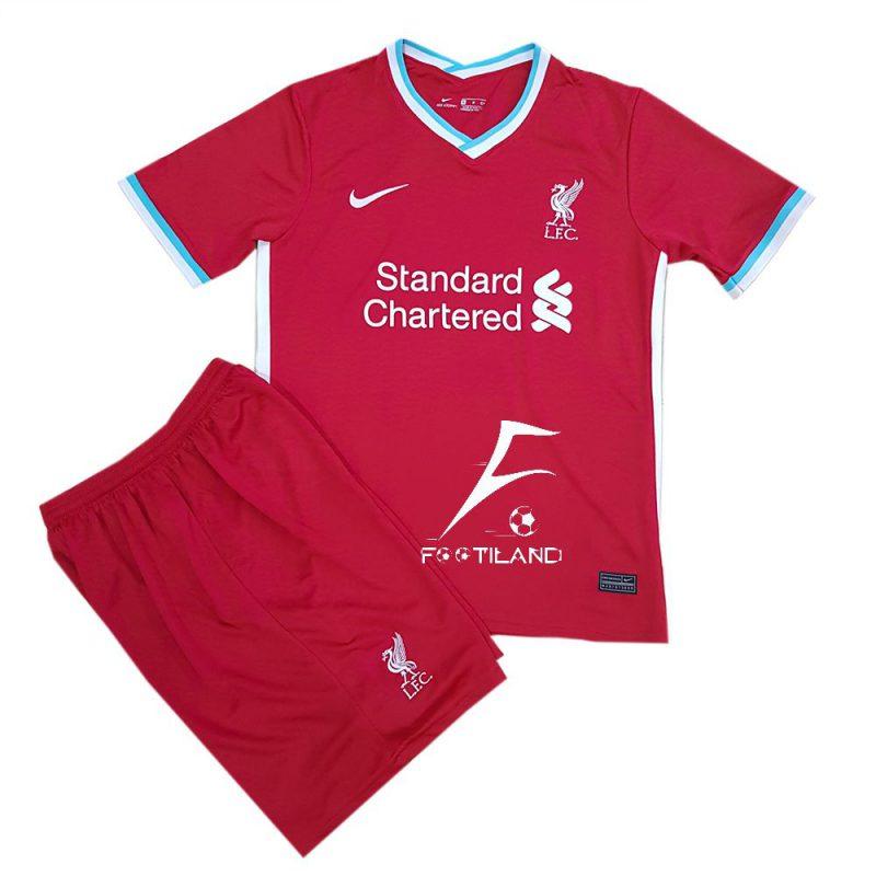 کیت لیورپول 2021 به رنگ قرمز