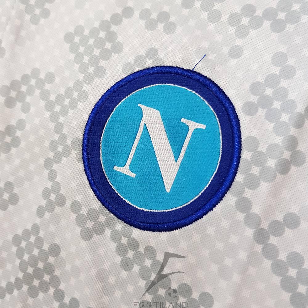کیفیت لوگو لباس سوم ناپولی 2020