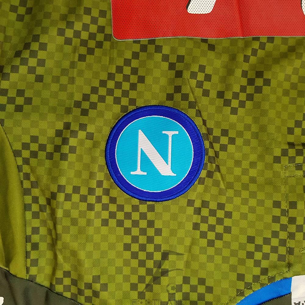 کیفیت لوگو لباس دوم ناپولی 2020