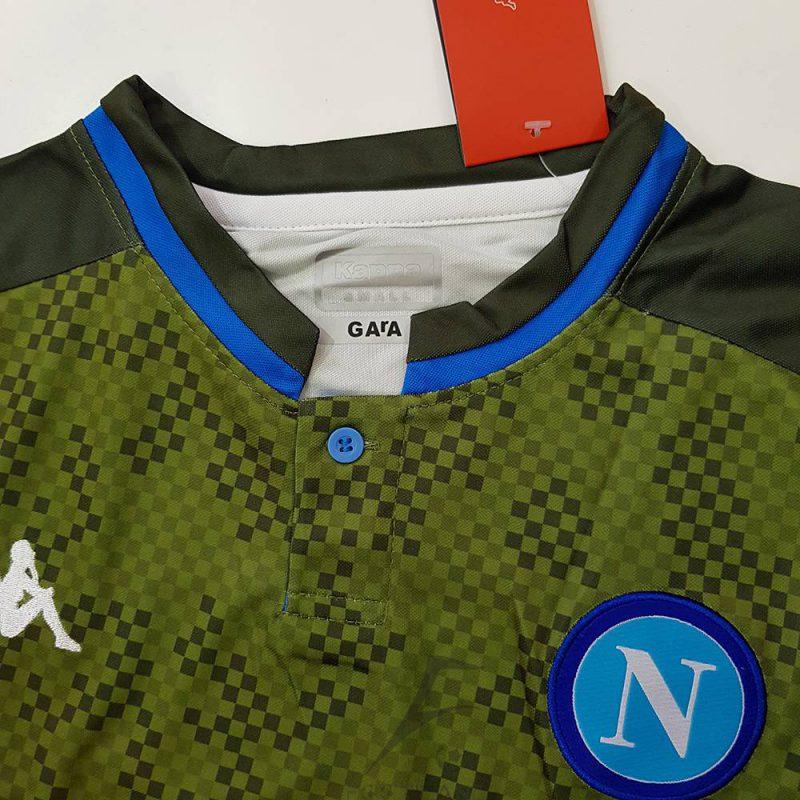 لوگو و آرم لباس دوم ناپولی 2020