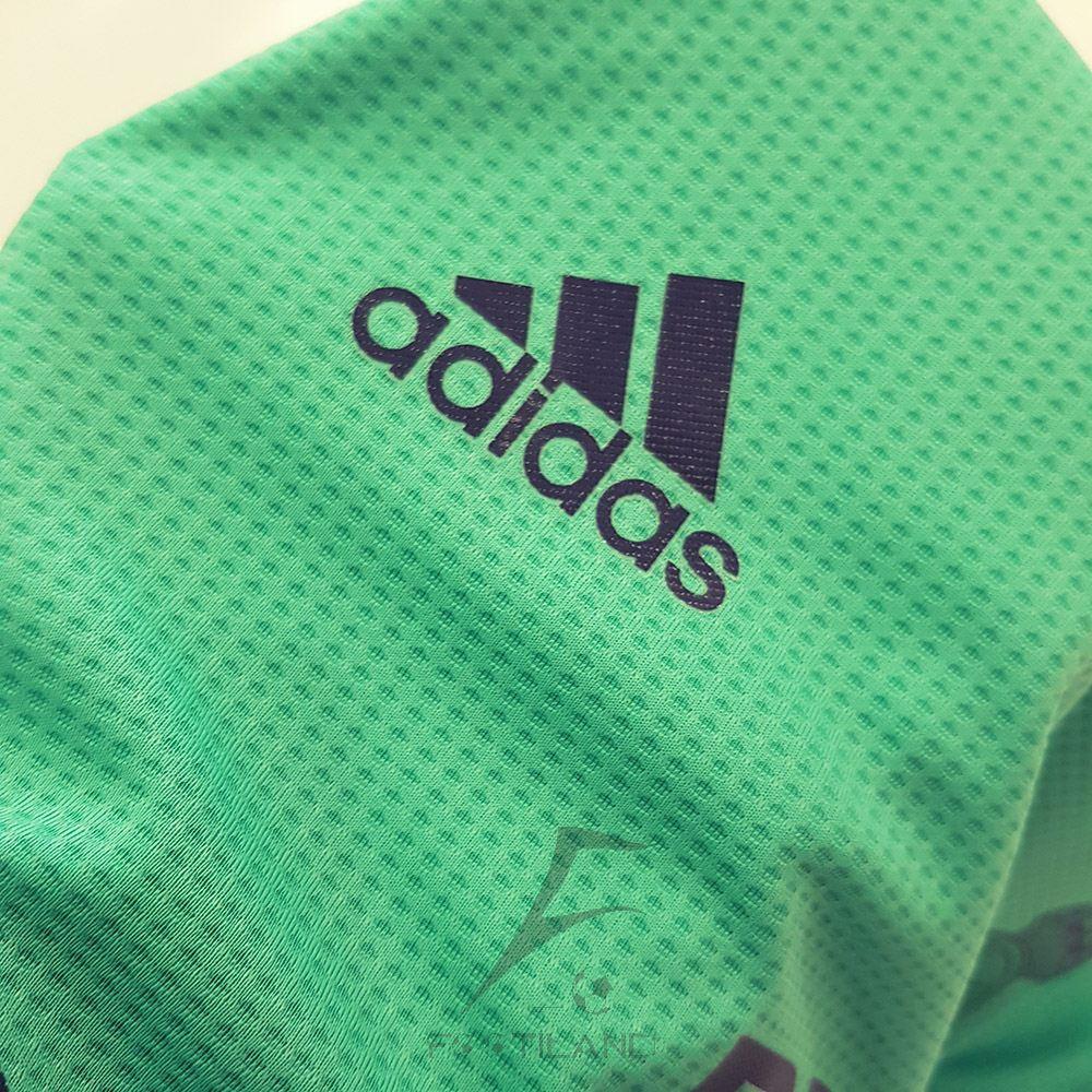کیفیت آرم آدیداس لباس سوم رئال مادرید ورژن پلیر2020