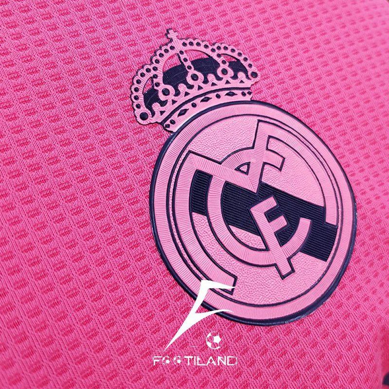 لباس پلیری دوم رئال مادرید 2021 با لوگو و آرم آدیداس ژلاتینی