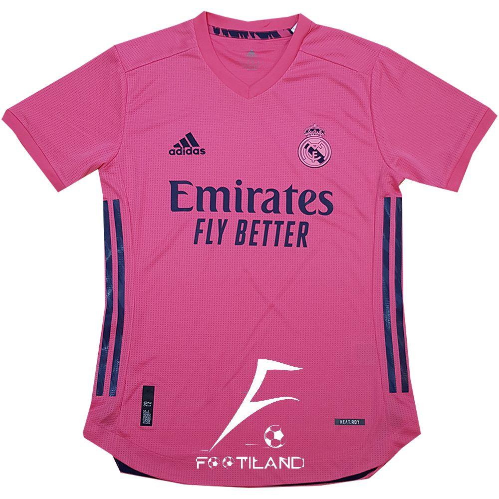 لباس پلیری دوم رئال مادرید 2021 به رنگ صورتی