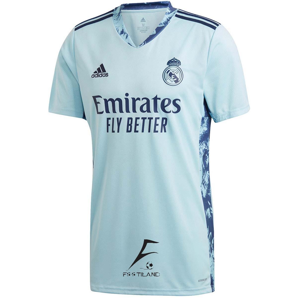 لباس دروازه بانی رئال مادرید 2021 آّبی