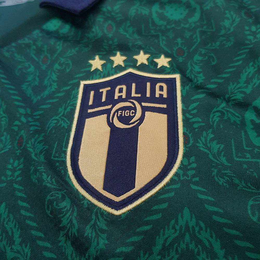 کیفیت لوگو لباس سوم ایتالیا 2020
