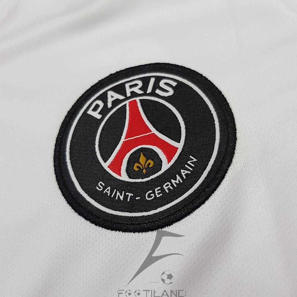 کیفیت لوگو لباس پاریس سن ژرمن سفید 2020