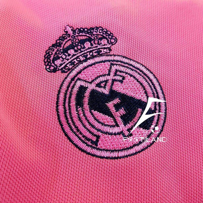 کیت دوم رئال مادرید 2021 با لوگو و آرم آدیداس گلدوزی شده