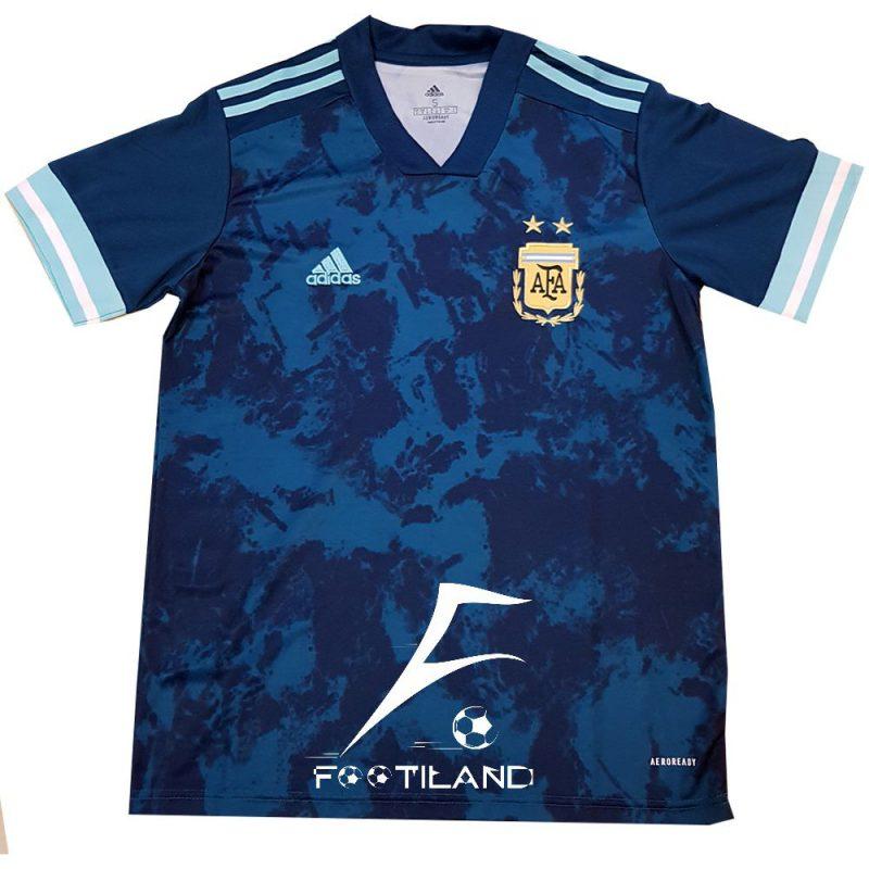 لباس دوم آرژانتین 2021 با رنگ سبز آبی