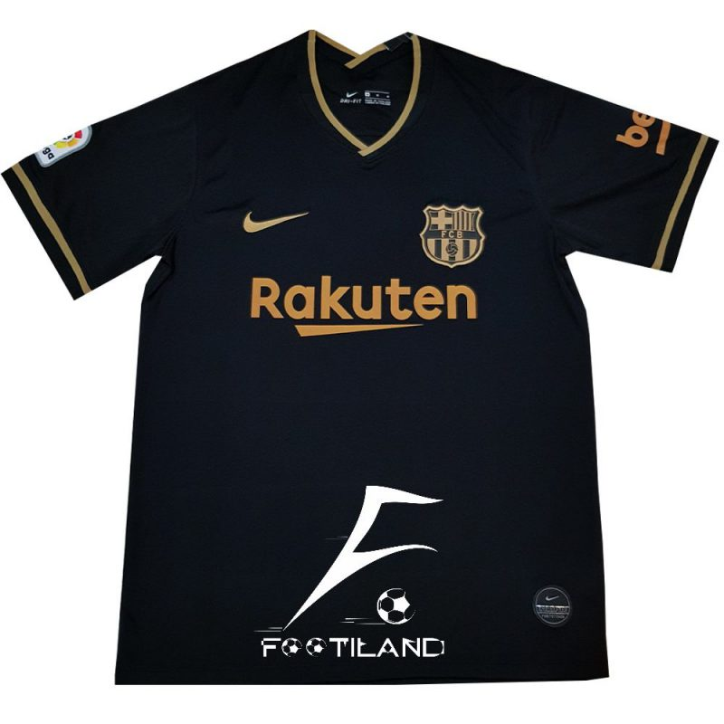 لباس دوم بارسلونا 2021 را رنگ مشکی