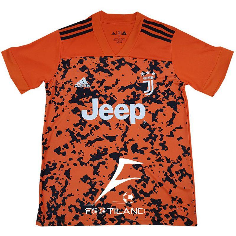 لباس سوم یوونتوس 2021 با رنگ نارنجی