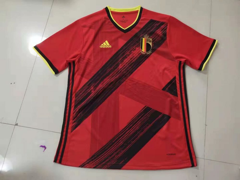 لباس بلژیک 2020 پلیر تیشرت درجه یک