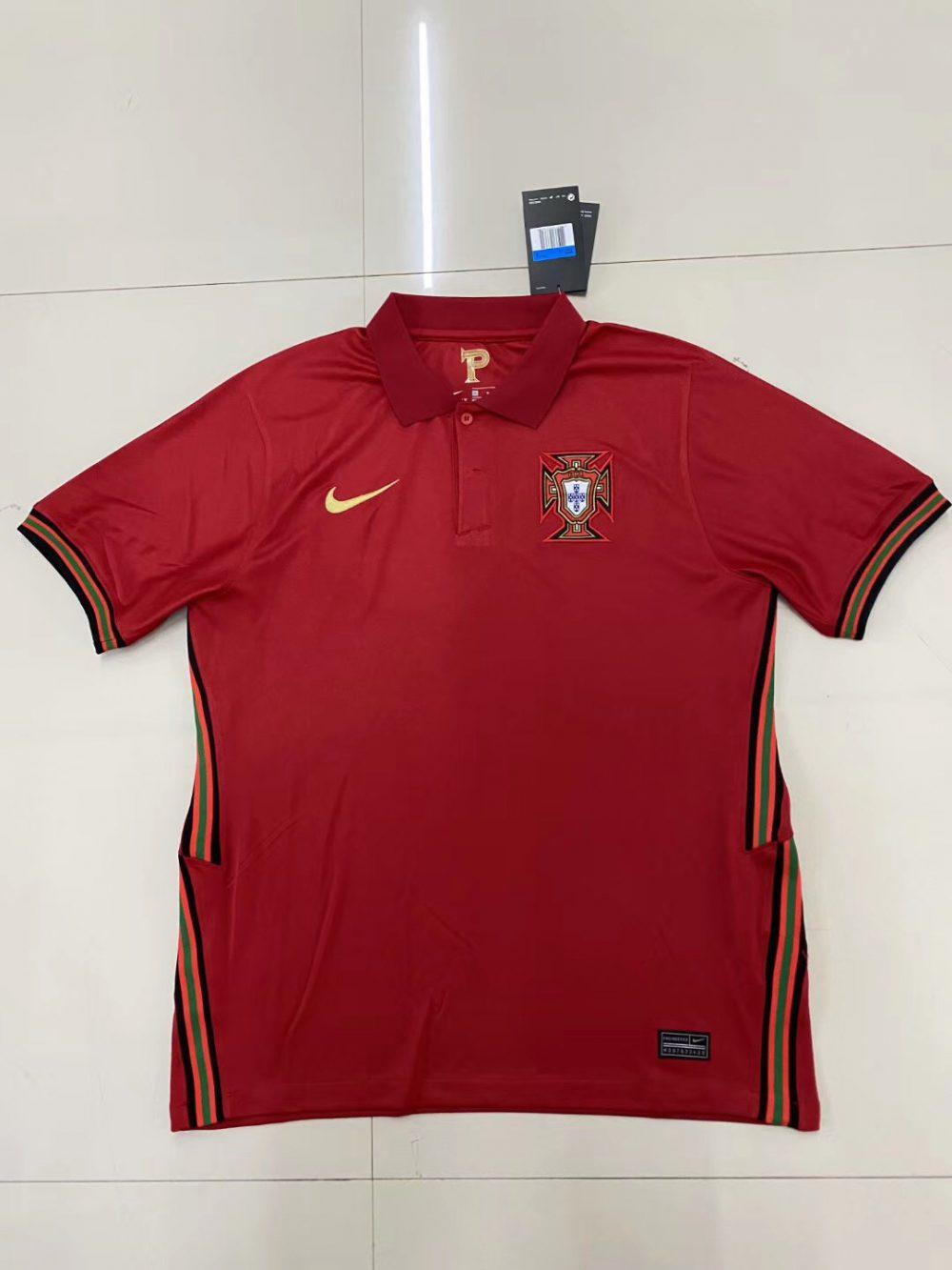 لباس پرتغال یورو 2020 پیراهن درجه یک