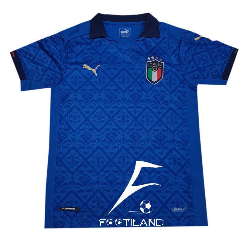 لباس تیم ملی ایتالیا 2020 به رنگ آبی پر رنگ