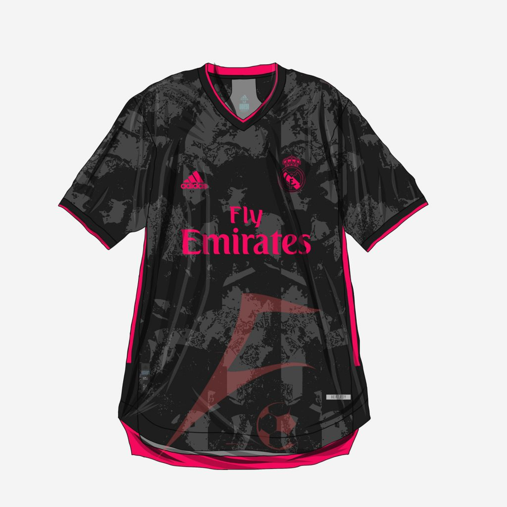 طرح احتمالی لباس سوم رئال مادرید 2021