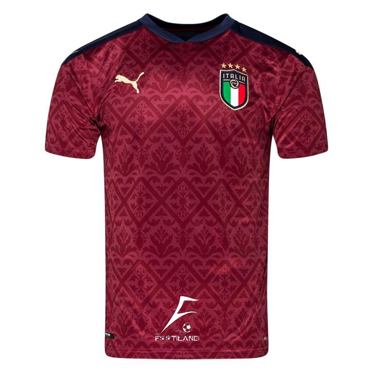لباس دروازه بانی ایتالیا 2021 شرابی