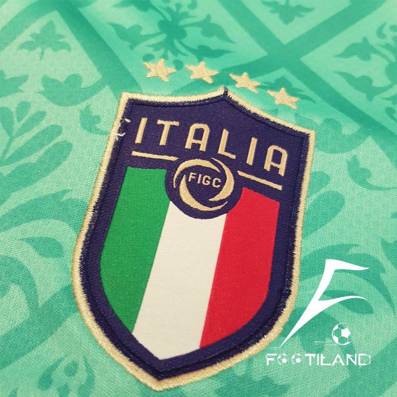 لباس دروازه بانی ایتالیا 2020 با لوگو دور دوخت و پوما گلدوزی شده