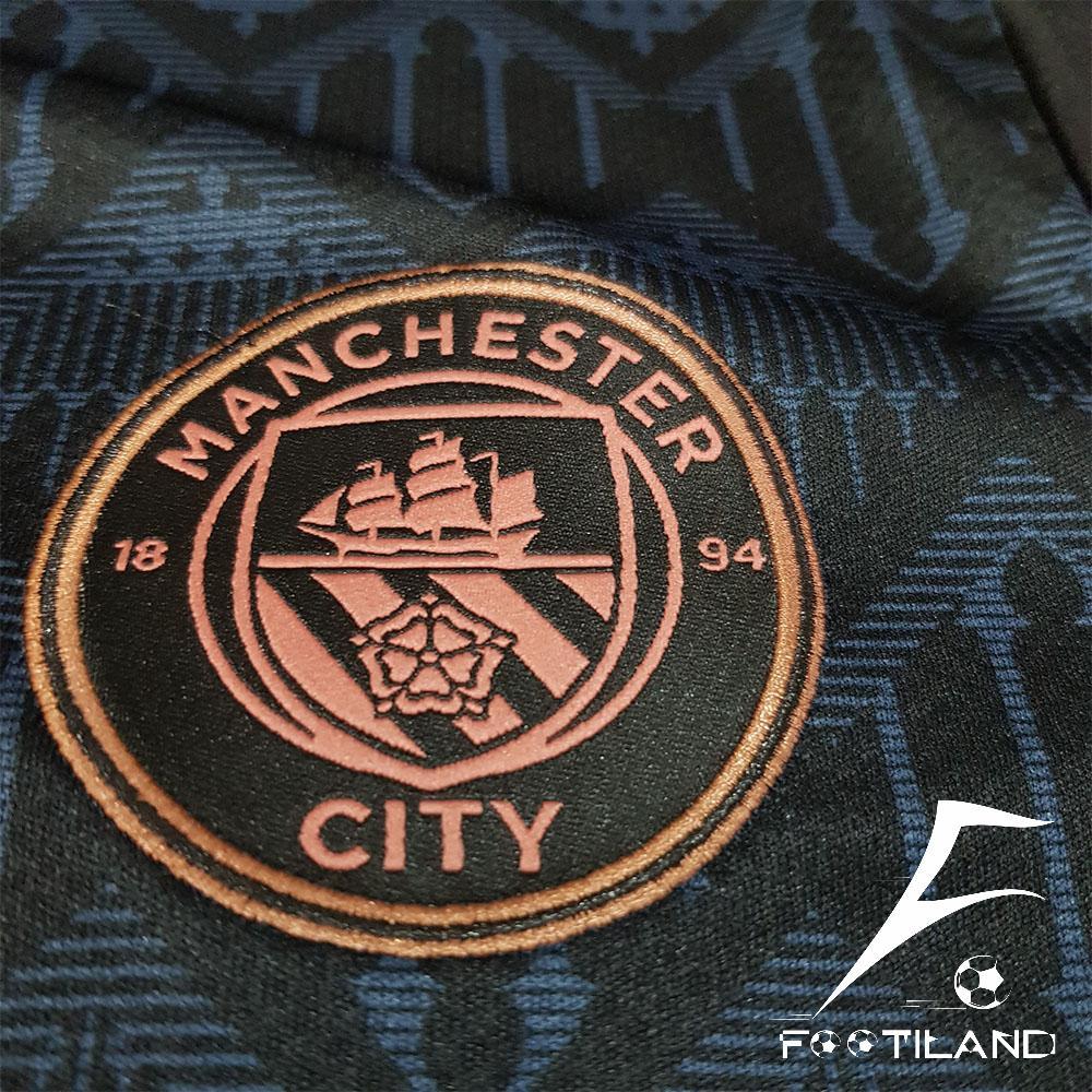 لوگو گلدوزی لباس دوم منچستر سیتی 2021