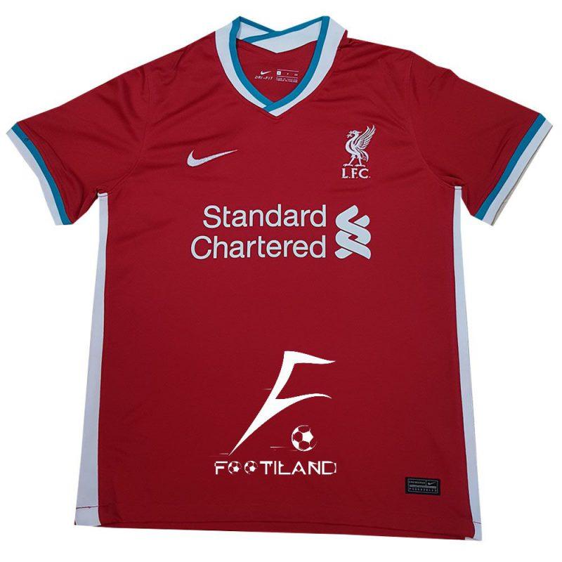 لباس لیورپول 2021 با رنگ قرمز