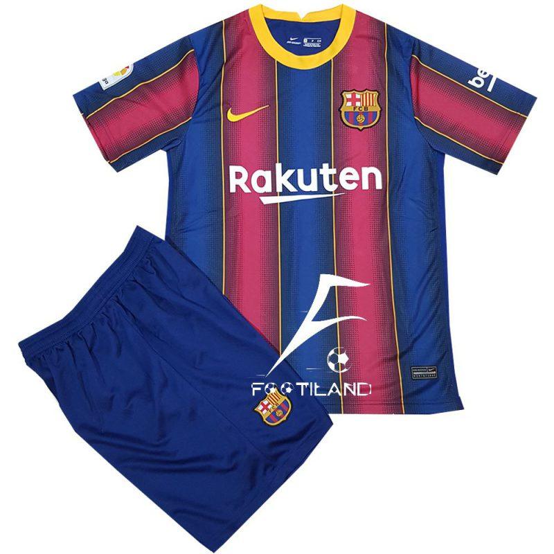 کیت بارسلونا 2021 آبی اناری