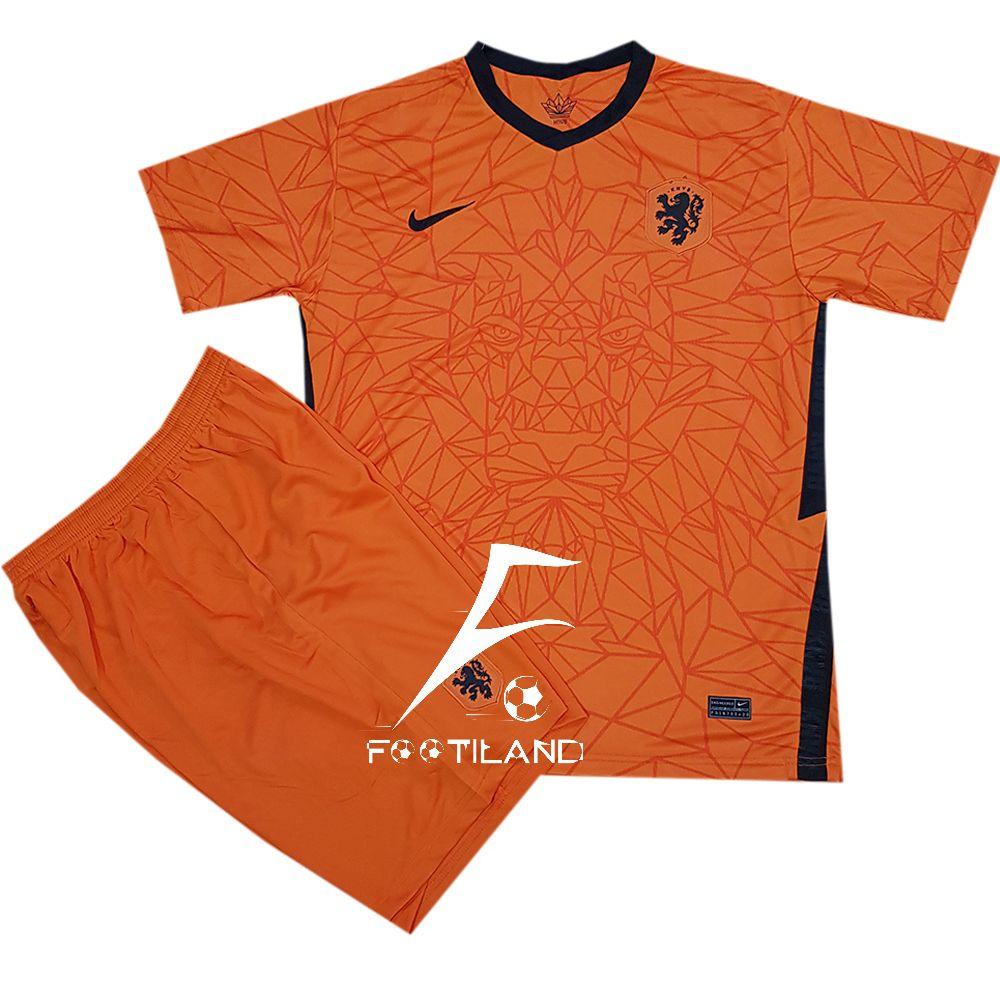 کیت تیم ملی هلند 2020 با رنگ نارنجی