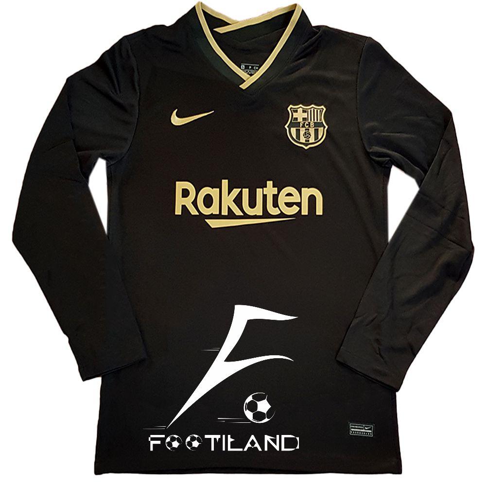 لباس آستین بلند دوم بارسلونا 2021
