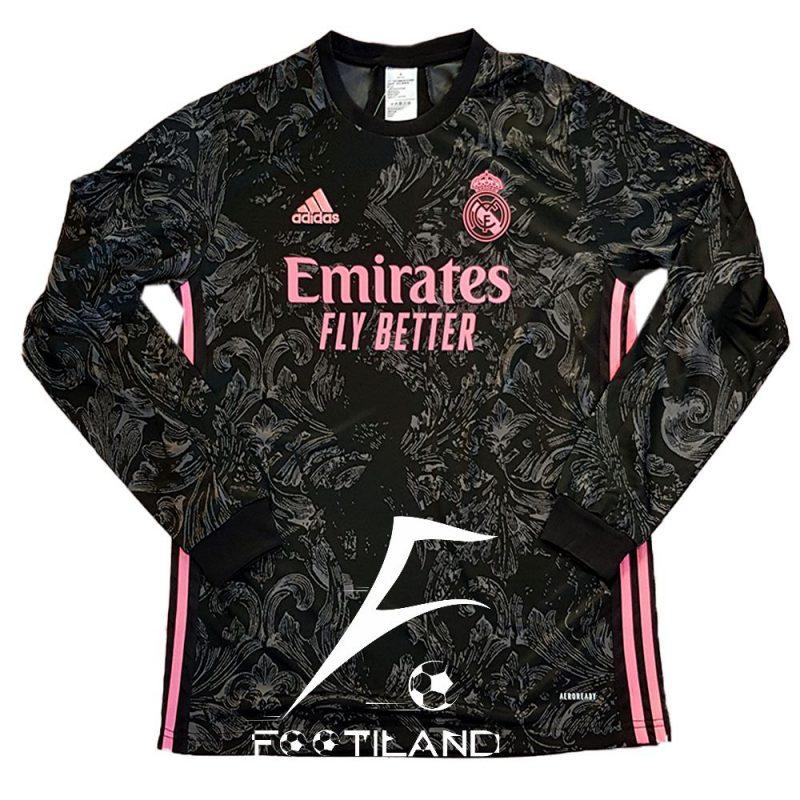 لباس سوم رئال مادرید آستین بلند 2021