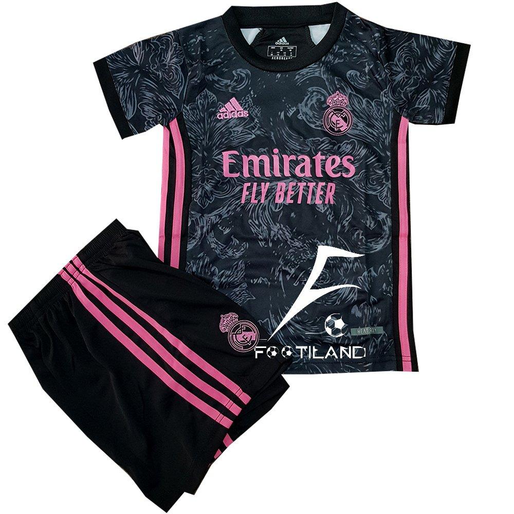 لباس سوم رئال مادرید بچه گانه 2021