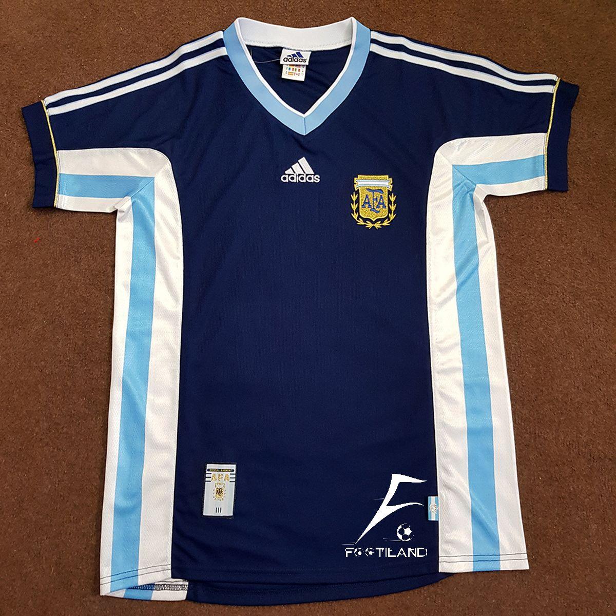 لباس کلاسیک دوم آرژانتین 1998