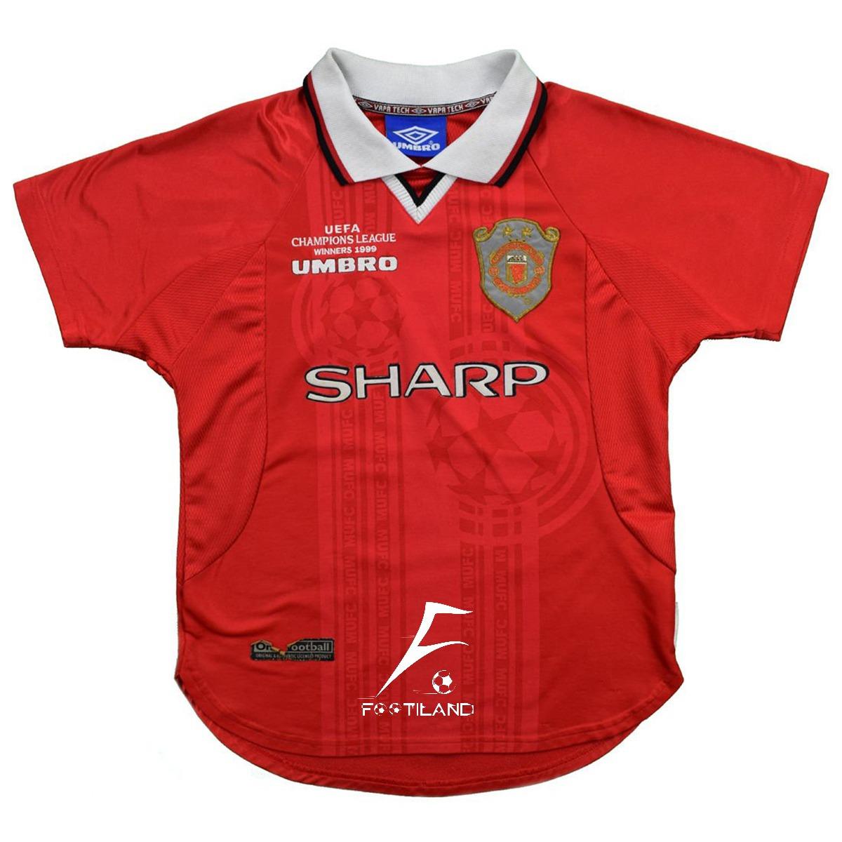 لباس کلاسیک منچستر یونایتد 1999