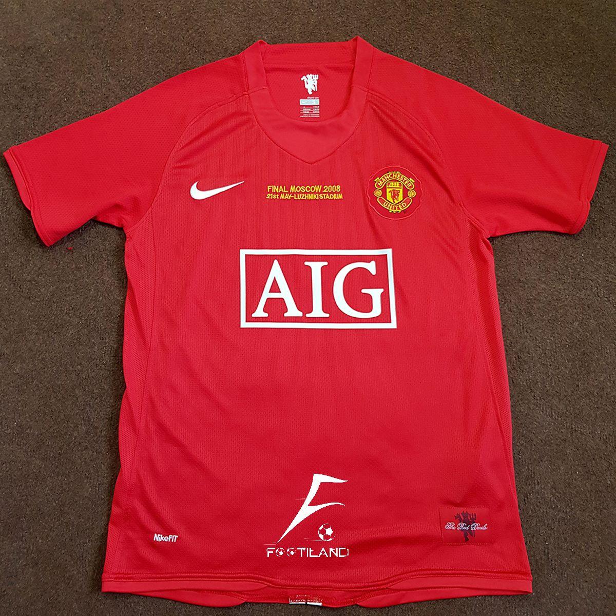 لباس کلاسیک منچستر یونایتد 2008