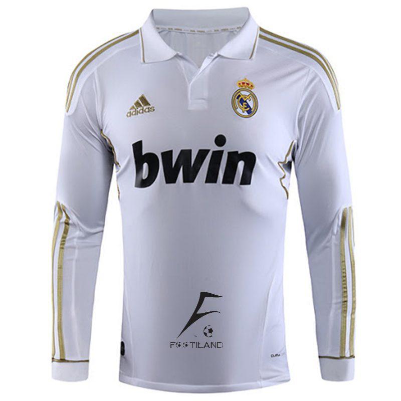 لباس کلاسیک رئال مادرید آستین بلند 2012