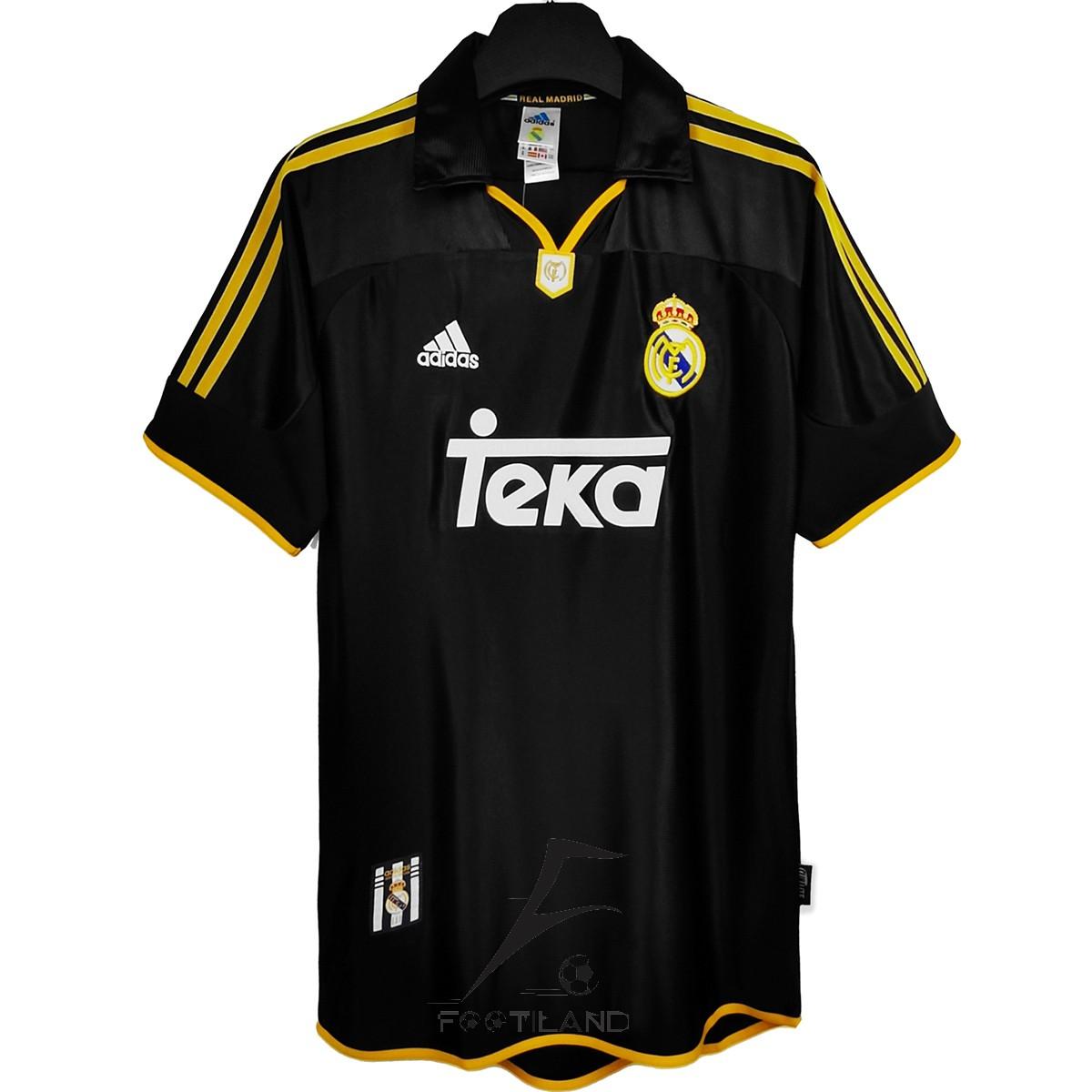 لباس کلاسیک رئال مادرید دوم 2000